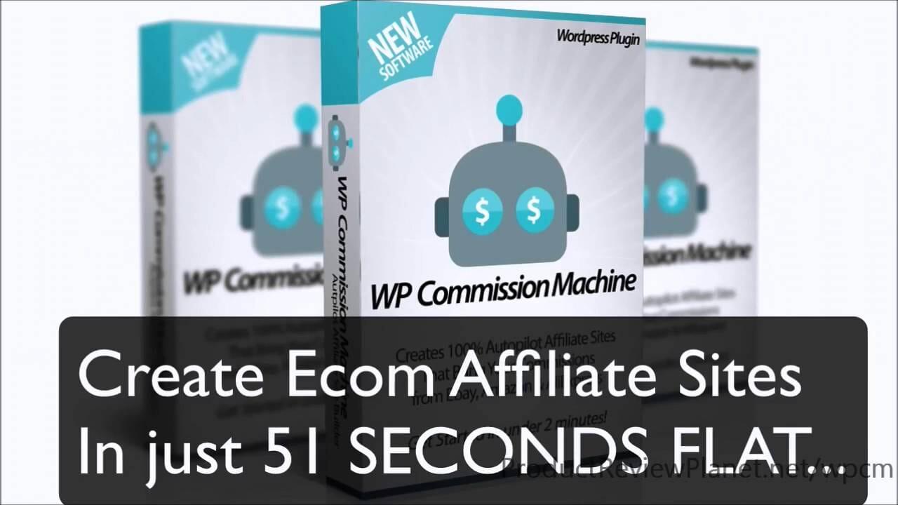 WP Commission Machine Review | Huge BONUS – Passive Income from AliExpress, Ebay & Amazon